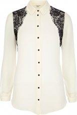 elegancka koszula River Island w kolorze ecru - moda dla kobiet 2012/13