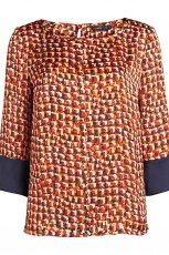 prosta bluzeczka Lindex we wzorki - moda na jesie� i zim�