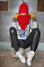 czarne legginsy Cropp - kolekcja jesienno-zimowa