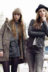 czarna marynarka Pepe Jeans sk�rzana - moda jesie�/zima