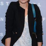 Odeta Moro-Figurska w czapce z woalk�