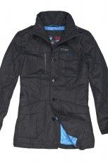 Sza�owa czarna kurtka Cropp jesie�-zima 2012/ 2013