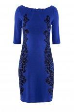 prosta sukienka H&M w kolorze niebieskim - modne sukienki