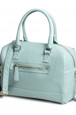 elegancka torebka Lindex w kolorze b��kitnym - modne torebki
