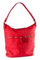 du�a torebka H&M w kolorze czerwonym - torebki na jesie� i zim�