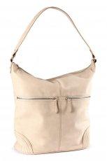 torba H&M w kolorze be�owym - torebki na jesie� i zim�
