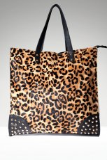 maxi torba Stradivarius w panterk� - modne torebki na jesie� i zim�