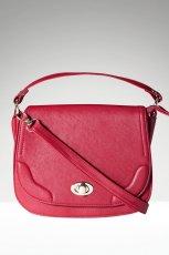 ma�a listonoszka Stradivarius w kolorze bordowym - najmodniejsze torebki na jesie� i zim�