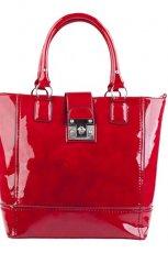 du�a torebka CCC w kolorze czerwonym