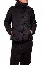 elegancka kurtka Grey Wolf w kolorze czarnym - moda na jesie� i zim�