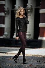 fioletowe spodnie Cubus - zima 2012/2013