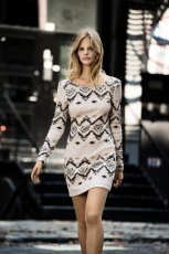 sukienka Cubus we wzory - zima 2012/2013