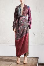 Pi�kna kolorowa tunika H&M wi�zana w talii kolekcja jesienno-zimowa