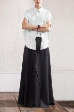 Modna czarna sp�dnica H&M obszerna jesie� i zima 2012/2013