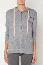 Modna szara bluza Oysho ze wzorem HIT na jesie� i zim� 2012/13