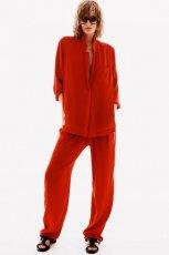 lu�na koszula H&M w kolorze czerwonym - wiosna i lato 2013