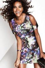 sukienka wieczorowa H&M - zima 2012/13