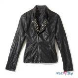 rockowa ramoneska House w kolorze czarnym - moda sylwestrowa 2012