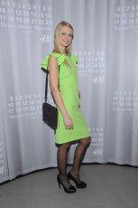oryginalna sukienka w kolorze zielonym - Anna Piszcza�ka