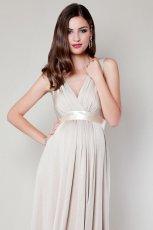 ecru suknia �lubna Tiffany Rose kr�tka