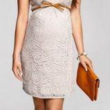 be�owa suknia �lubna Happy mum z kr�tkam r�kawem