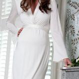 suknia �lubna Tiffany Rose z d�ugam r�kawem