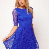 foto 1 - Modny kobalt i chaber - sukienki na studniówkę 2013