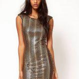 �liczna sukienka Asos - kreacja na studni�wk�