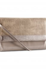 elegancka kopert�wka H&M w kolorze nude - pi�kne torebki  na imprez�