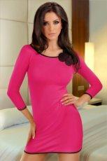 koszula Lupoline w kolorze r�owym - kolekcja nocna dla kobiet