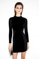 kobieca sukienka ZARA w kolorze czarnym - eleganckie ubrania