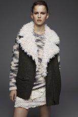 futrzana kamizelka Pull and Bear - modne ubrania dla kobiet