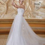 suknia �lubna Herms Bridal z paskiem