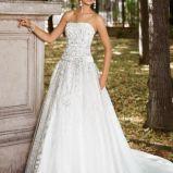 suknia �lubna Annais Bridal z pasem koronkowa
