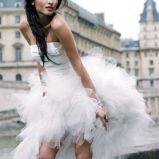 suknia �lubna Cymbeline asymetryczna