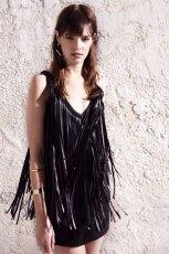 rockowa sukienka River Island w kolorze czarnym - kolekcja na wiosn� 2013
