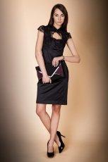 elegancka sukienka Monnari w kolorze czarnym - kolekcja �wi�teczna 2012