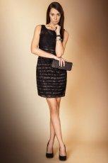 �liczna sukienka Monnari w kolorze czarnym - kolekcja �wi�teczna 2012