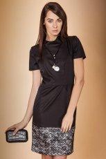sukienka Monnari w kolorze czarnym - kolekcja �wi�teczna 2012