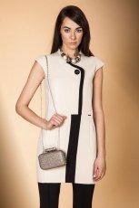 urocza tunika Monnari w kolorze ecru - kolekcja �wi�teczna 2012