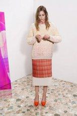 prosta sp�dnica Stella McCartney w szkock� kratk� - wiosna i lato 2013