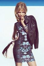 sukienka H&M w kwiaty - trendy 2013