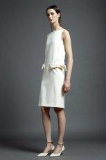 bia�a sukienka Valentino - wiosna/lato 2013