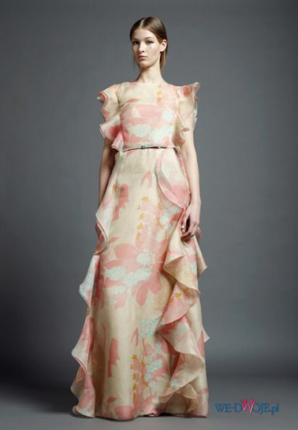 suknia Valentino - kolekcja wiosenna