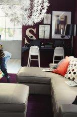 Nowoczesnemeble salon IKEA  -urokliwe wn�trze