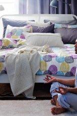 Przytulne meble sypialnia IKEA -propozycje 2013