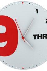 Urzekaj�cy zegar �cienny w stylu nowoczesnym-  Meble Vox