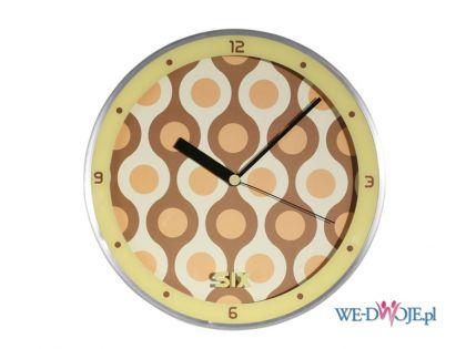 Urzekaj�cy zegar �cienny w stylu pop art-  Meble Vox