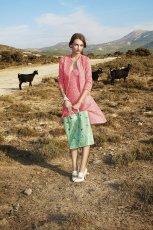 uroczy p�aszczyk Simple w kolorze r�owym - kolekcja na wiosn� 2013