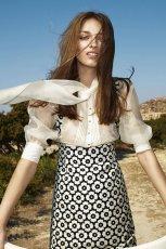 elegancka koszula Simple w kolorze ecru - kolekcja na wiosn� 2013